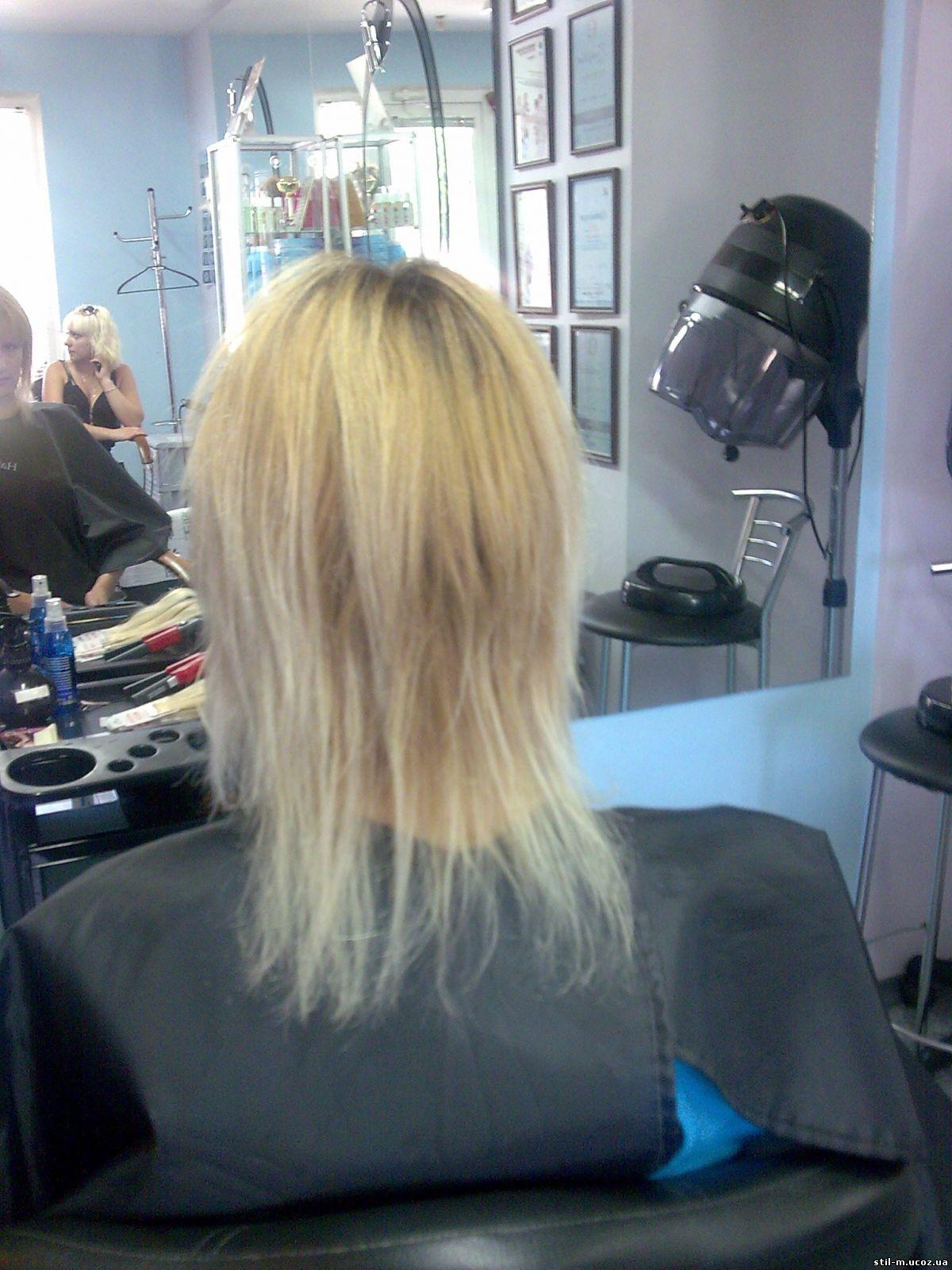 Прическа на очень жидкие волосы